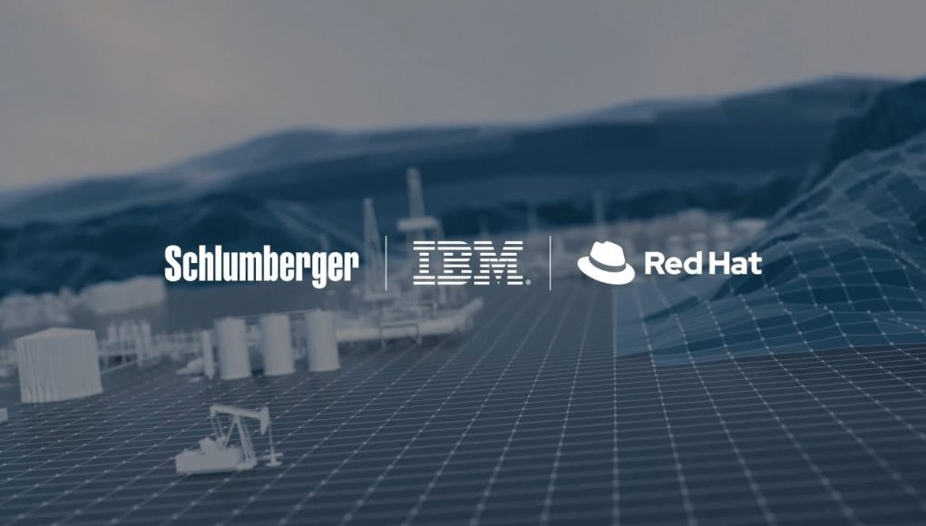 schlumberger ibm red hat collaboration